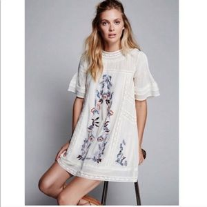 Perfectly Victorian mini dress free people